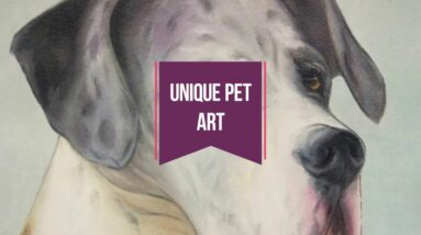 Amazing Dog Portrait in Various Art Style