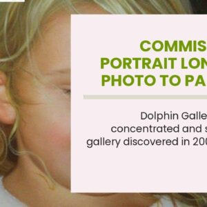 Commission a Portrait London - Photo to Painting by Master Artist