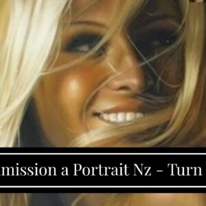 Commission a Portrait Nz - Turn Your Photo into Art