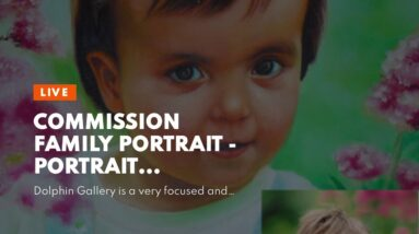 commission family portrait - Portrait Paintings Made From Photos