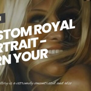 Custom Royal Portrait - Turn Your Photo into Art