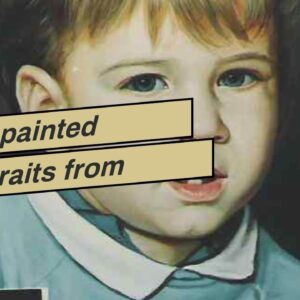 Hand-painted Portraits from Photos - Photo to Painting by Master Artist