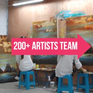 Chinese Painters For Hire - China's Giant Oil Painting Factory - Art in Bulk