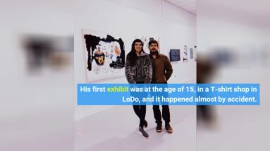 Julio Alejandro is making his mark on Denver's art scene one dragon, dinosaur and cute cat at a...