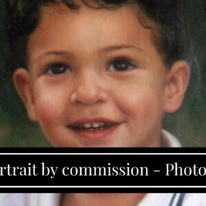 portrait by commission - Photo to Painting by Master Artist