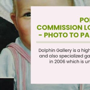 Portrait Commission London - Photo to Painting by Master Artist