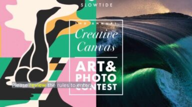 Slowtide Announces Creative Canvas Art Contest - Shop-Eat-Surf.com