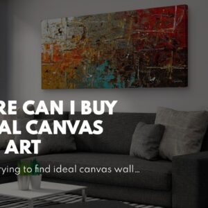 Where Can I Buy Floral Canvas Wall Art