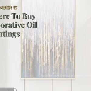Where To Buy Decorative Oil Paintings
