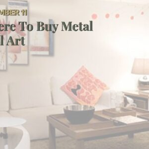 Where To Buy Metal Wall Art