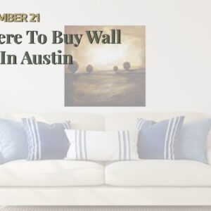 Where To Buy Wall Art In Austin