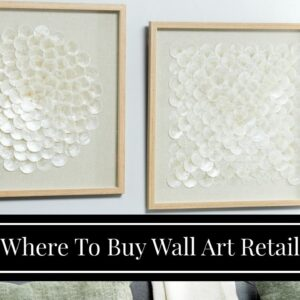 Where To Buy Wall Art Retail