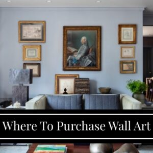Where To Purchase Wall Art