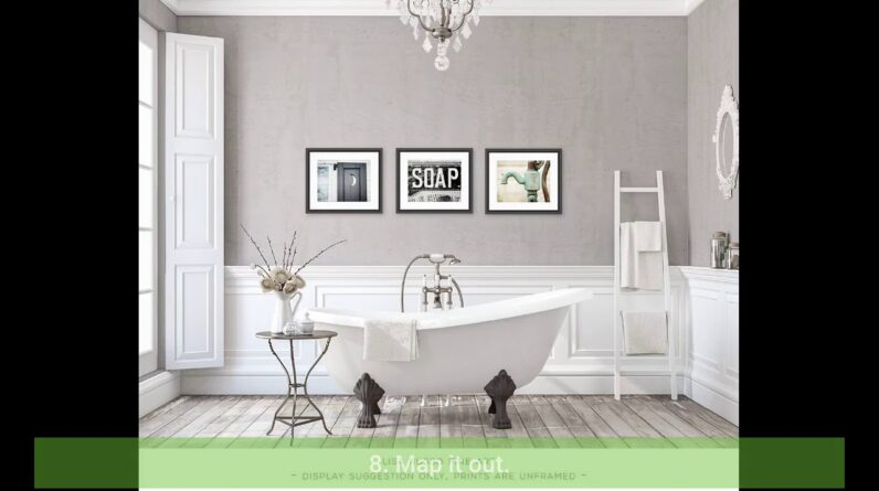Amazon Bathroom Canvas Art