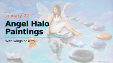 Angel Halo Paintings