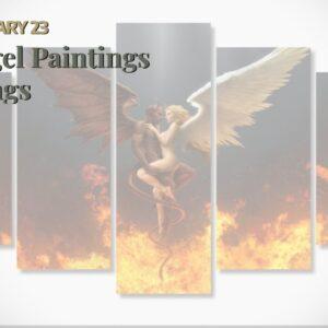Angel Paintings Wings