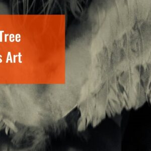Angel Tree Canvas Art