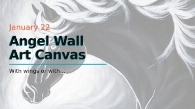 Angel Wall Art Canvas