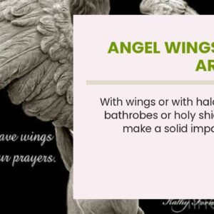 Angel Wings Wall Art Pink