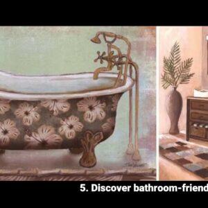 Bathroom Art Cats