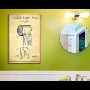 Bathroom Art Grey