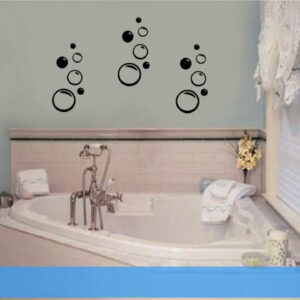Bathroom Art Navy Blue