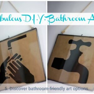 Bathroom Art Set