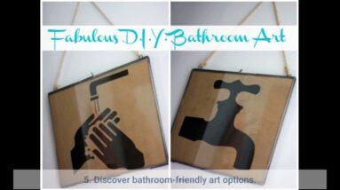 Bathroom Art Set