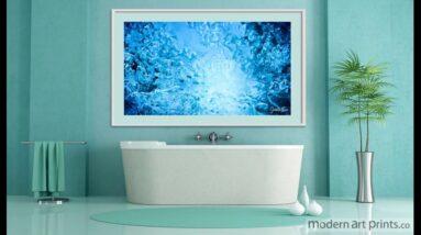Bathroom Wall Art Ocean