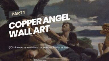 Copper Angel Wall Art
