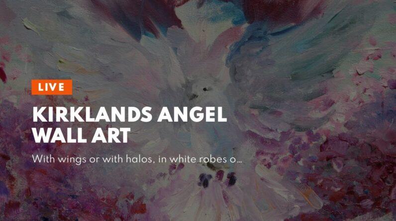 Kirklands Angel Wall Art