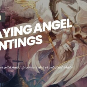 Praying Angel Paintings