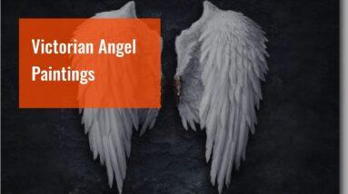 Victorian Angel Paintings