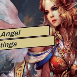 Xmas Angel Paintings
