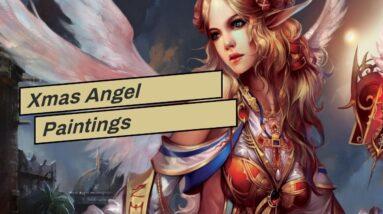 Xmas Angel Paintings